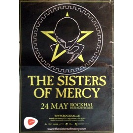 The Sisters Of Mercy - AFFICHE MUSIQUE / CONCERT / POSTER
