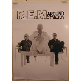 REM - Around The Sun - AFFICHE MUSIQUE / CONCERT / POSTER