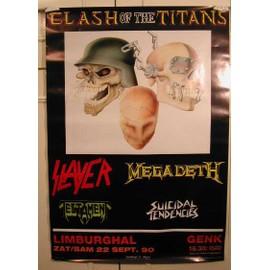 Clash The - Of the titan - AFFICHE MUSIQUE / CONCERT / POSTER
