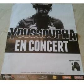 Youssoupha - AFFICHE MUSIQUE / CONCERT / POSTER