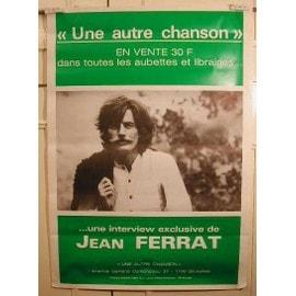 Ferrat Jean - AFFICHE MUSIQUE / CONCERT / POSTER