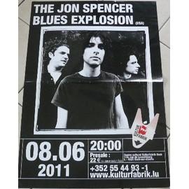 The Jon Spencer Blues Explosion - AFFICHE MUSIQUE / CONCERT / POSTER