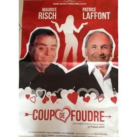 Coup De Foudre - Patrice LAFFONT - AFFICHE MUSIQUE / CONCERT / POSTER