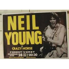 Young Neil - AFFICHE MUSIQUE / CONCERT / POSTER