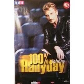 Hallyday Johnny  - 1 - AFFICHE MUSIQUE / CONCERT / POSTER