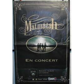 MATMATAH - La cerise - AFFICHE MUSIQUE / CONCERT / POSTER