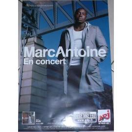 Marc ANTOINE - AFFICHE MUSIQUE / CONCERT / POSTER