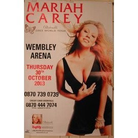 Carey Mariah - AFFICHE MUSIQUE / CONCERT / POSTER