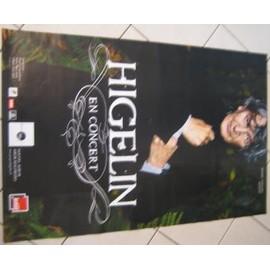 HIGELIN Jacques - 2007 - AFFICHE MUSIQUE / CONCERT / POSTER