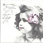 Lot De 2 Serviettes D�co Papier: Souvenir De Fillette Blonde Vintage