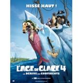 L'age De Glace 4 - 2012 - - Affiche Cinema Originale