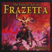 The Fantasy Art Of Frazetta de Frank Frazetta