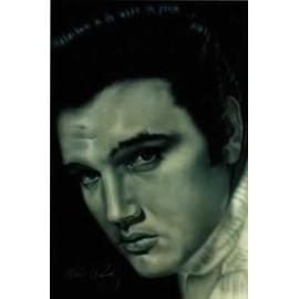 Elvis PRESLEY - Portrait - AFFICHE / POSTER envoi en tube