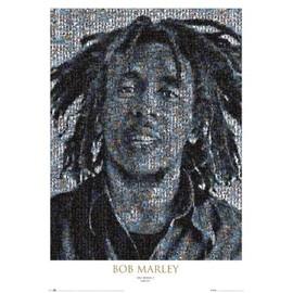 Bob MARLEY - Mosaic II - AFFICHE / POSTER envoi en tube