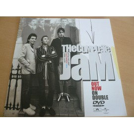 "The JAM - 12"" Advert - AFFICHE / POSTER envoi en tube"