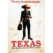 Texas - Doc Snyder - Affiche / Poster Envoi En Tube