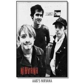 Nirvana -  - AFFICHE / POSTER envoi en tube