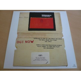 "Radiohead - 12"" Advert - AFFICHE / POSTER envoi en tube"