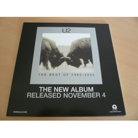 "U2 - New Album 12"" Advert - AFFICHE / POSTER envoi en tube"
