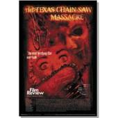 Texas Chainsaw Masscre - Film Review - Affiche / Poster Envoi En Tube