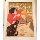 Compagnie Fran�aise Chocolats Et Th�s - Steinlen - Affiche / Poster Envoi En Tube