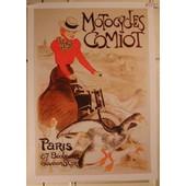 Motocycles Comiot - Steinlen - Affiche / Poster Envoi En Tube