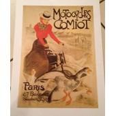 Motocycles Comiot Paris - Steinlen - Affiche / Poster Envoi En Tube