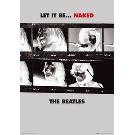 BEATLES - Naked - AFFICHE / POSTER envoi en tube