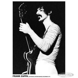 Frank ZAPPA - Live In Amsterdam 1970 - AFFICHE / POSTER envoi en tube
