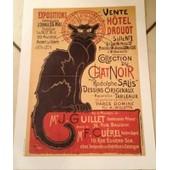 Chat Noir - Rodolphe Salis - Steinlen - Affiche / Poster Envoi En Tube