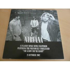 """NIRVANA - 12"""" Advert - AFFICHE / POSTER envoi en tube"""