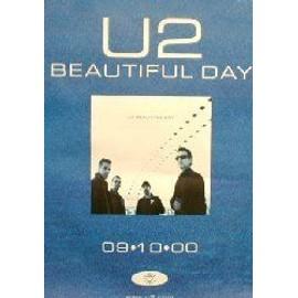 U2 - Beautiful Day - AFFICHE / POSTER envoi en tube