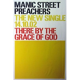 Manic Street Preachers - There By The Grace Of God - AFFICHE / POSTER envoi en tube