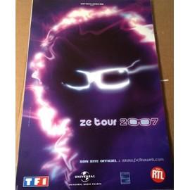 Michel POLNAREFF - Tour 2007 - AFFICHE / POSTER envoi en tube
