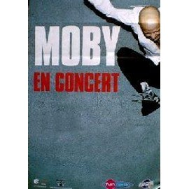 MOBY - French Tour - AFFICHE / POSTER envoi en tube