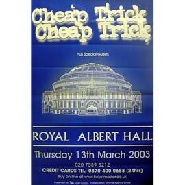Cheap Trick - Royal Albert Hall - AFFICHE / POSTER envoi en tube