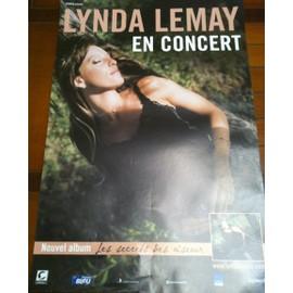 Lynda LEMAY - - AFFICHE / POSTER envoi en tube