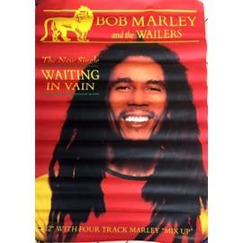 Bob MARLEY - Waiting In Vain - AFFICHE / POSTER envoi en tube
