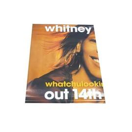 Whitney Houston - Out 14th - AFFICHE / POSTER envoi en tube
