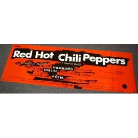 Red Hot Chili Peppers - Superlanges Tour - AFFICHE / POSTER envoi en tube