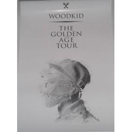 Woodkid - The Golden Age Tour - AFFICHE / POSTER envoi en tube