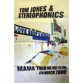 Tom Jones - Stereophonics - AFFICHE / POSTER envoi en tube