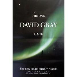 David GRAY - I Love - AFFICHE / POSTER envoi en tube