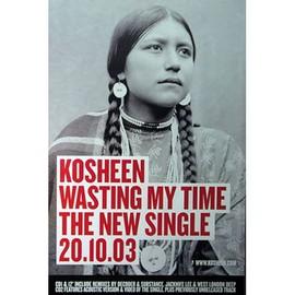 Kosheen - Wasting My Time - AFFICHE / POSTER envoi en tube