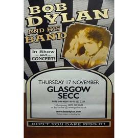Bob DYLAN - Glasgow SECC - AFFICHE / POSTER envoi en tube