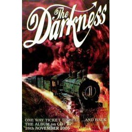 The DARKNESS - One Way Ticket To Hell (Album) (K) - AFFICHE / POSTER envoi en tube