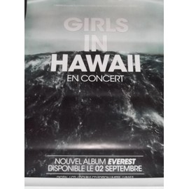 Girls In Hawaii -  - AFFICHE / POSTER envoi en tube