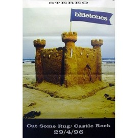 The Bluetones - Cut Some Rug - AFFICHE / POSTER envoi en tube