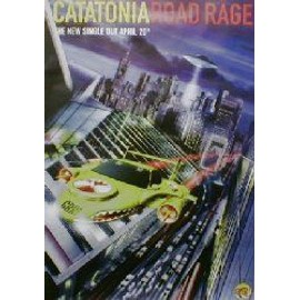 CATATONIA - Road rage (Q) (K) - AFFICHE / POSTER envoi en tube