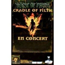Cradle Of Filth - Damnation and a day - En concert (Q) - AFFICHE / POSTER envoi en tube